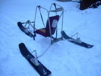 Лыжи на снегоход своими руками
