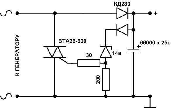 мощный регулятор тока в зу - Практическая схемотехника.