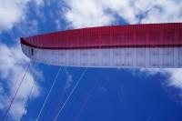 UP Summit XC2: вид крыла в полёте